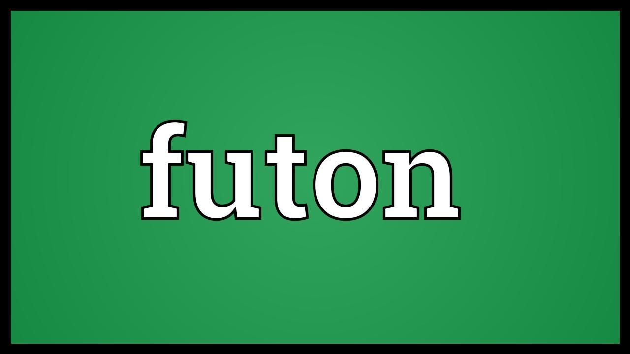 Futon Meaning