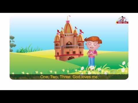 One Two Three God loves meEnglish RhymeVol 1