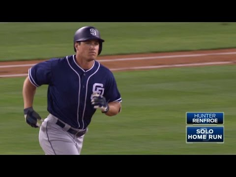 SD@LAD: Renfroe belts solo home run to...