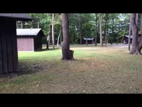 Letchworth state park a cabin tour youtube for Cabins near letchworth state park