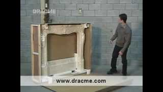 Diy Cast Stone Fireplace Mantel Installation  Dracme.com  1-877-990-8635