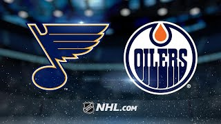 Schenn scores twice as Blues down Oilers