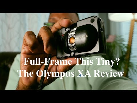 Tiny & PERFECT 35mm Full-Frame Film Camera? The Olympus XA Review