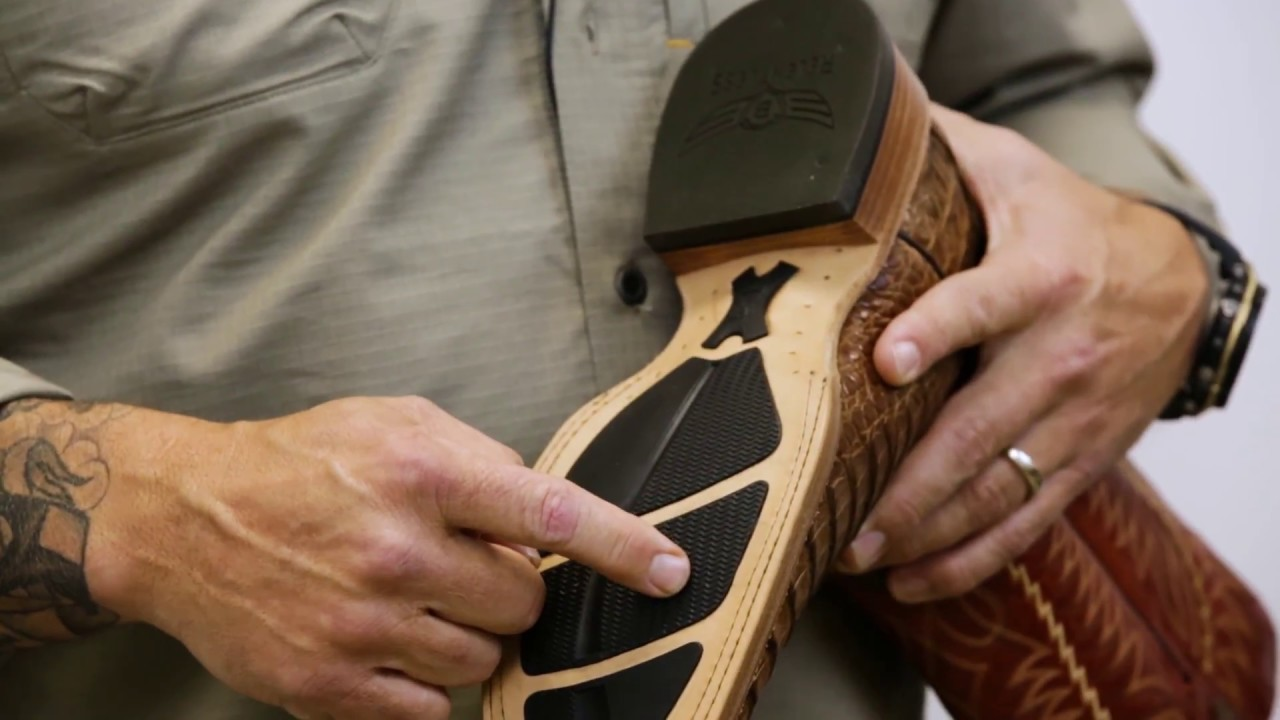 7b889dfff41 Relentless Footwear Technology by Ariat and Trevor Brazile