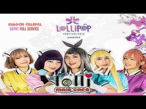 MAID CAFE INDONESIA di Acara Lollipop Festival Asia Ft. Fikuridesu
