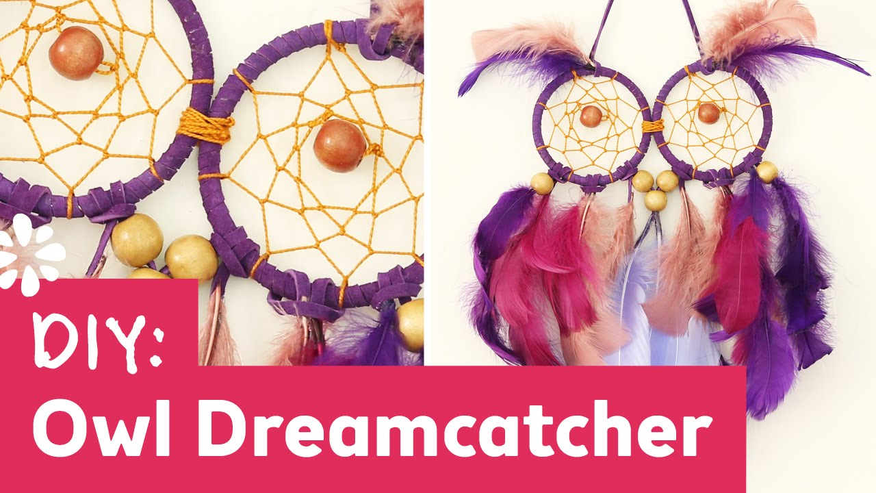 What Are Dream Catchers Supposed To Do DIY Owl Dreamcatcher YouTube 9