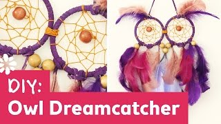 DIY Owl Dreamcatcher | Sea Lemon