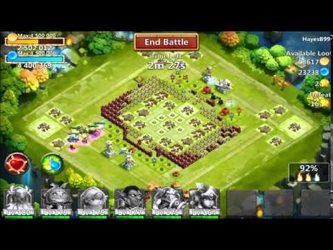 Castle Clash - New Update 1.2.72!!!  061815