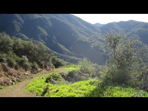 Santa Barbara Hiking Trails: Time-lapse Video of 6-Trail Loop