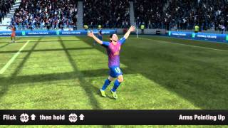 FIFA 12 - Running Celebrations Tutorial (Xbox 360, PS3 and PC)