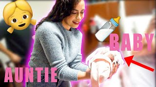 BECOMING AN AUNTIE FIRST TIME EVER!! (EMOTIONAL)