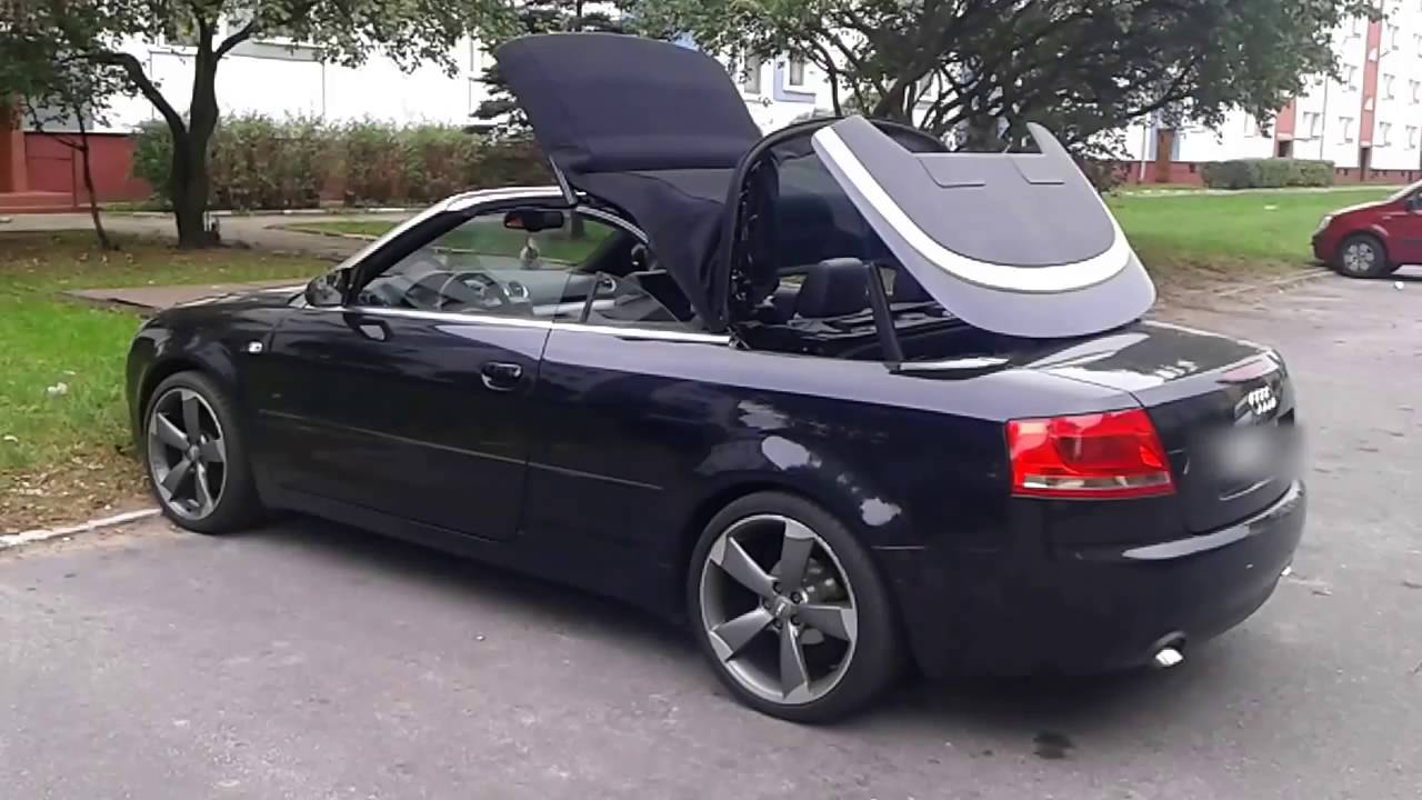 easy remote roof module for audi a4 b6 b7 cabrio. Black Bedroom Furniture Sets. Home Design Ideas
