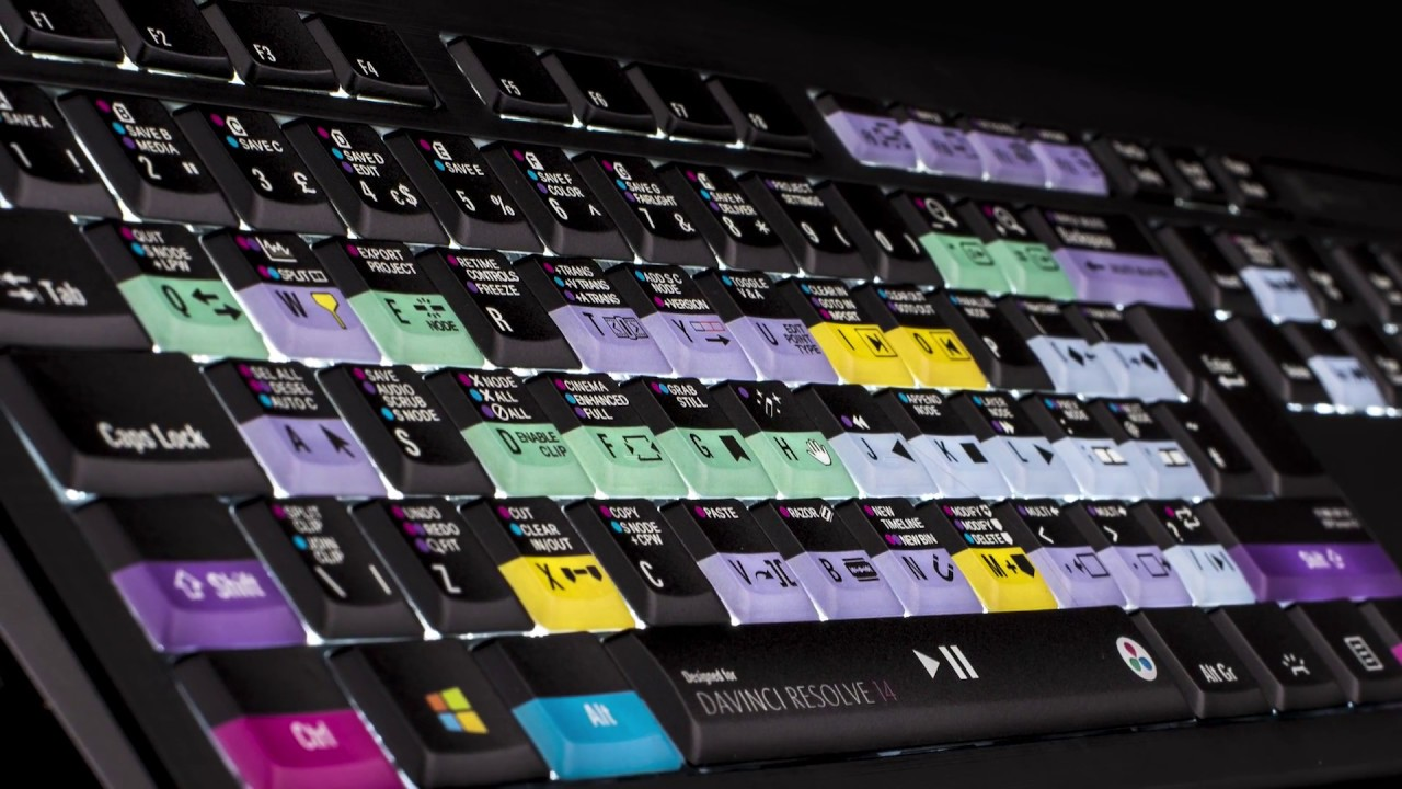 Gear Review Logickeyboard Resolve 14 Beta Keyboard Youtube