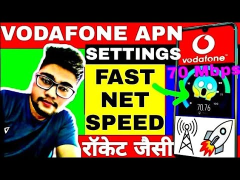 Vodafone Apn Settings 4g 2020 How To Increase Vodafone 4g Speed Vodafone Internet Speed Kaise Badhay