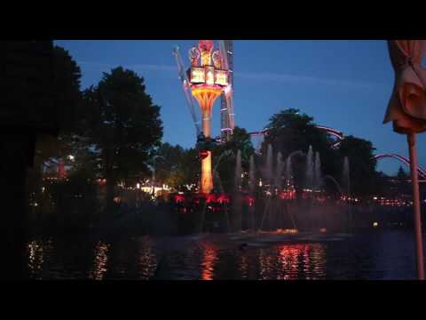 Tivoli Gardens Light Show Copenhagen 2017