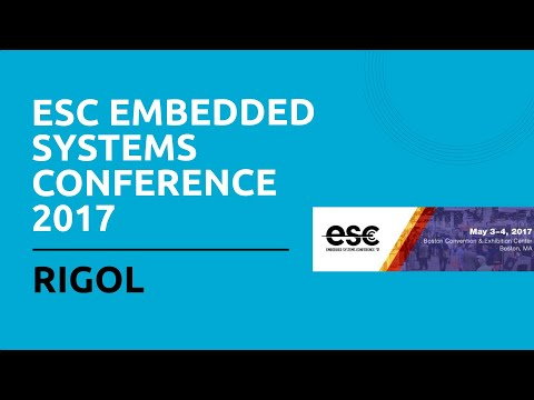 ESC Embedded Systems Conference 2017 - Rigol