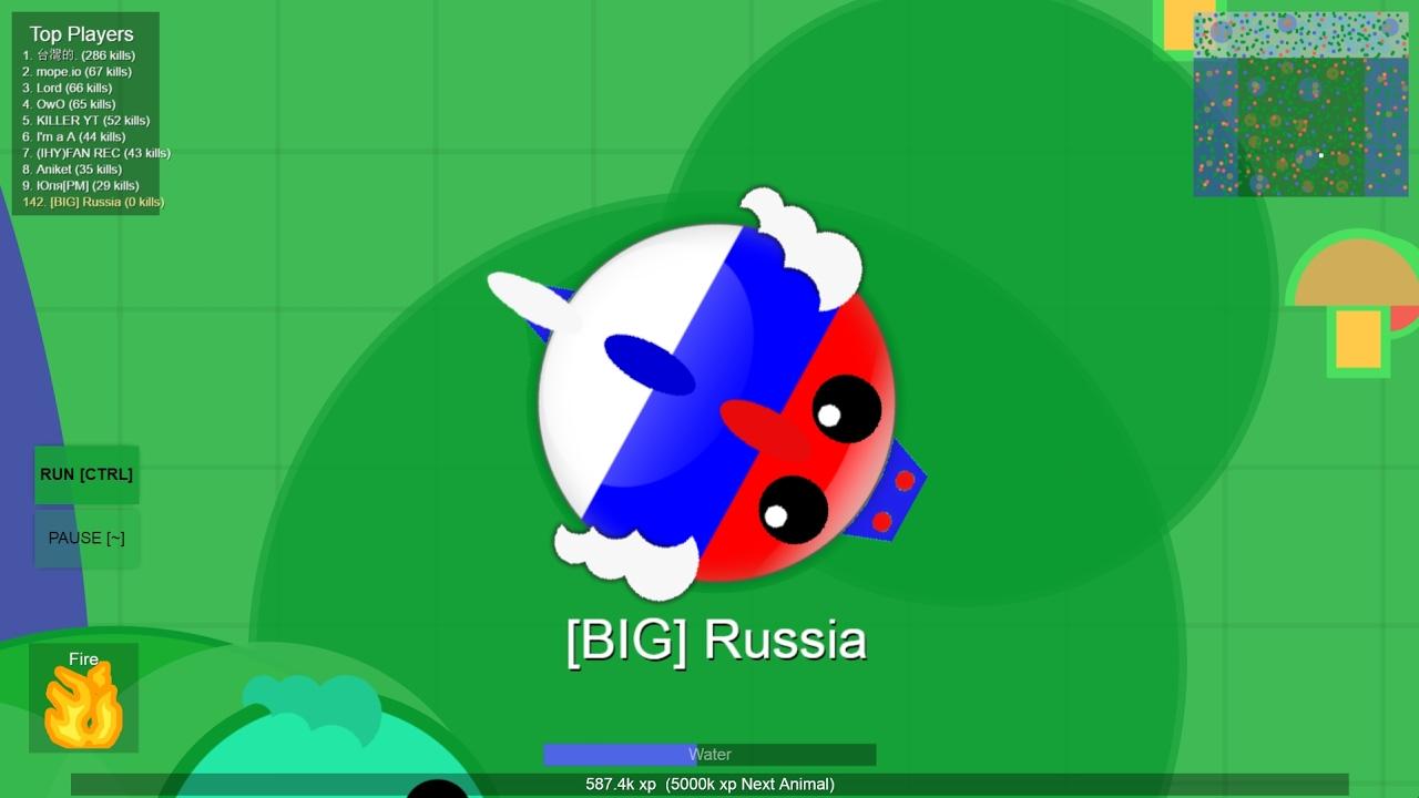 MOPE.IO /// SANDBOX // RUSSIAN DRAGON SKIN - YouTube