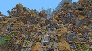 como encontrar una aldea en minecraft