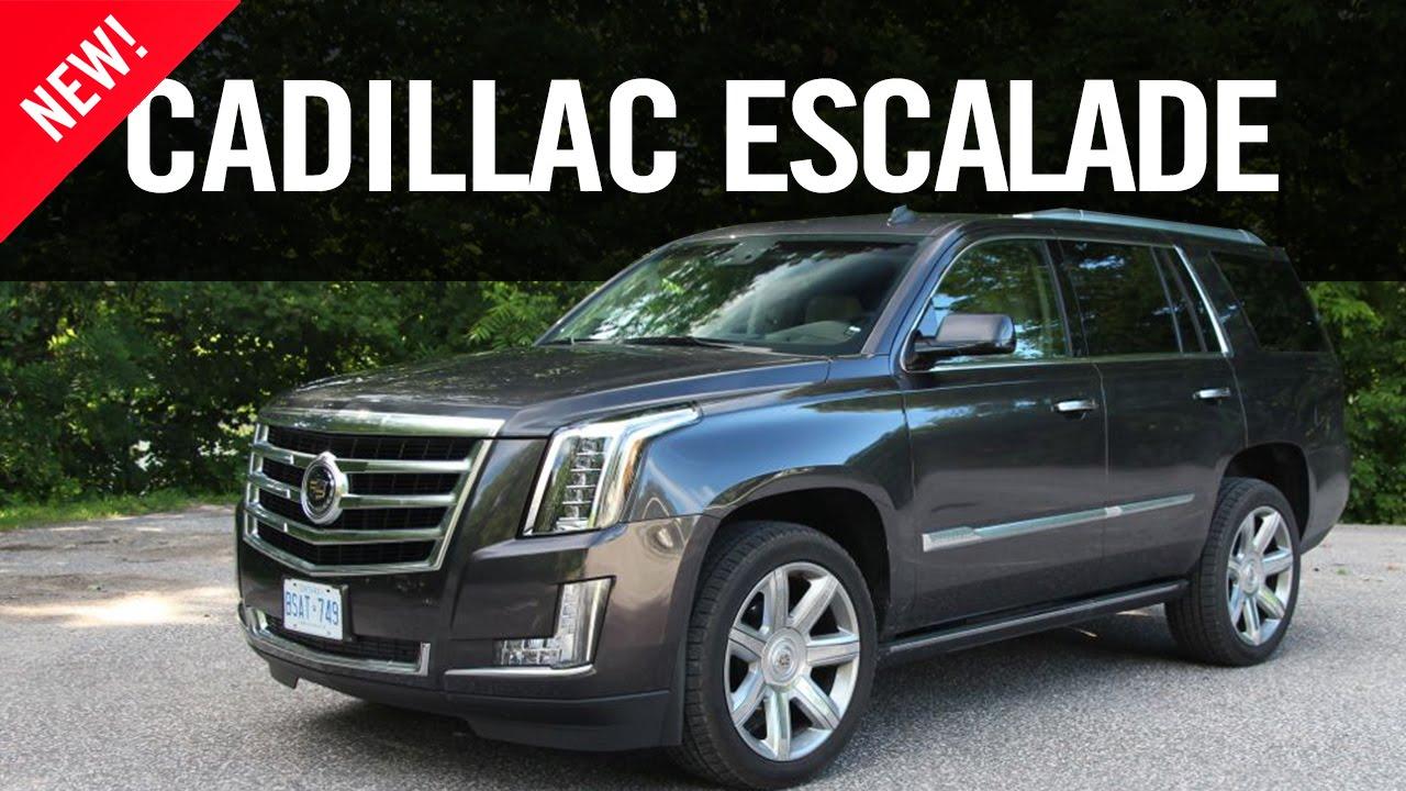 2015 Cadillac Escalade Review - YouTube