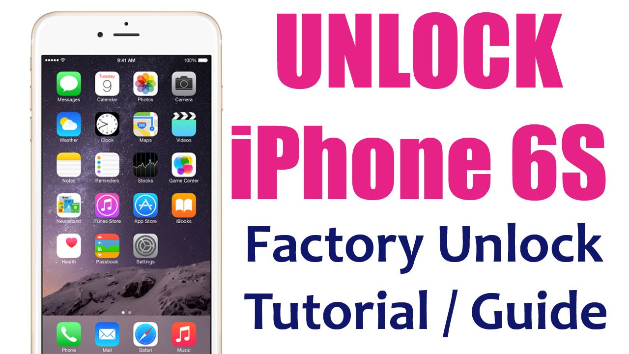 unlock iphone 6s plus network the easy way how to tutorial instructions youtube. Black Bedroom Furniture Sets. Home Design Ideas
