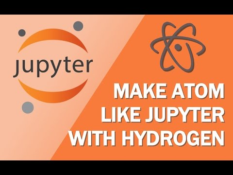 Learn Jupyter Notebooks (pt.1a) Hydrogen with Atom