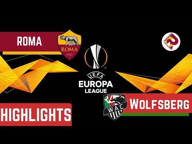 ROMA 2-2 Wolfsberger Highlights 2019/20