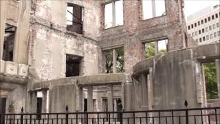 2011年の原爆ドーム(Atomic Bomb Dome of 2011) 被爆再現人形 検索動画 1
