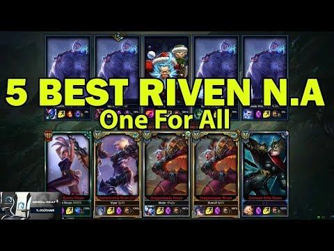 ( Viper , Box Box , Modx , Adrian Riven , Kumo9 ) Riven One For All - Riven vs NuNu