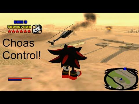 GTA San Andreas (Sonic Mod) [Shadow The Hedgehog] (Epic) PC Gameplay Part 6