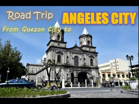 TRAVELLING AS IT IS! Road Trip from QUEZON CITY to ANGELES CITY PAMPANGA