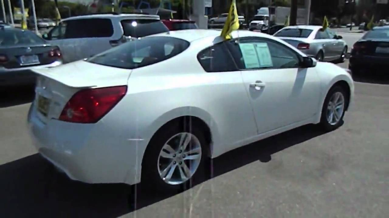 2011 Nissan Altima 2 5 S Coupe 2d Los Angeles Ca 420453