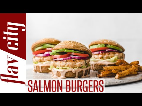 How To Make The Ultimate Salmon Burger With Secret Sauce