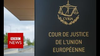 Brexit ruling: UK can cancel decision, EU court says - BBC News