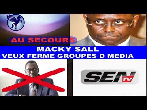 Complot.Macky Sall Dafa Beugue Teuth Groupe D Media