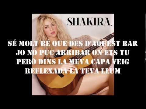Shakira - Boig Per Tu (Letra)