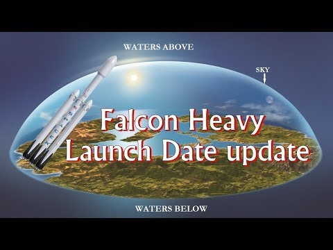 falcon heavy launch date update youtube. Black Bedroom Furniture Sets. Home Design Ideas