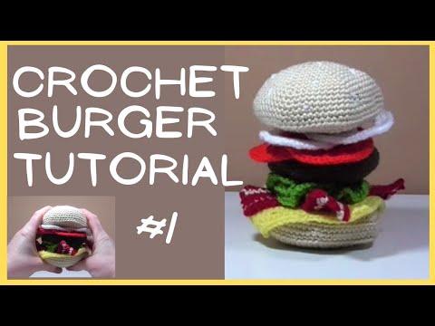 Happy Hamburger Ornament free crochet pattern in Super Saver yarn. Crochet  a foodie favorite … | Crochet christmas trees pattern, Holiday crochet,  Christmas crochet | 360x480