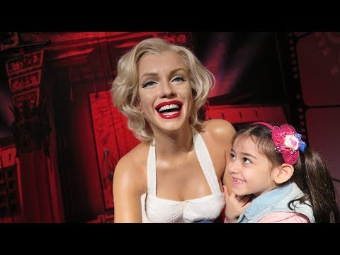 MADAME TUSSAUDS / ISTANBUL TURKEY - kids fun video, eğlencel