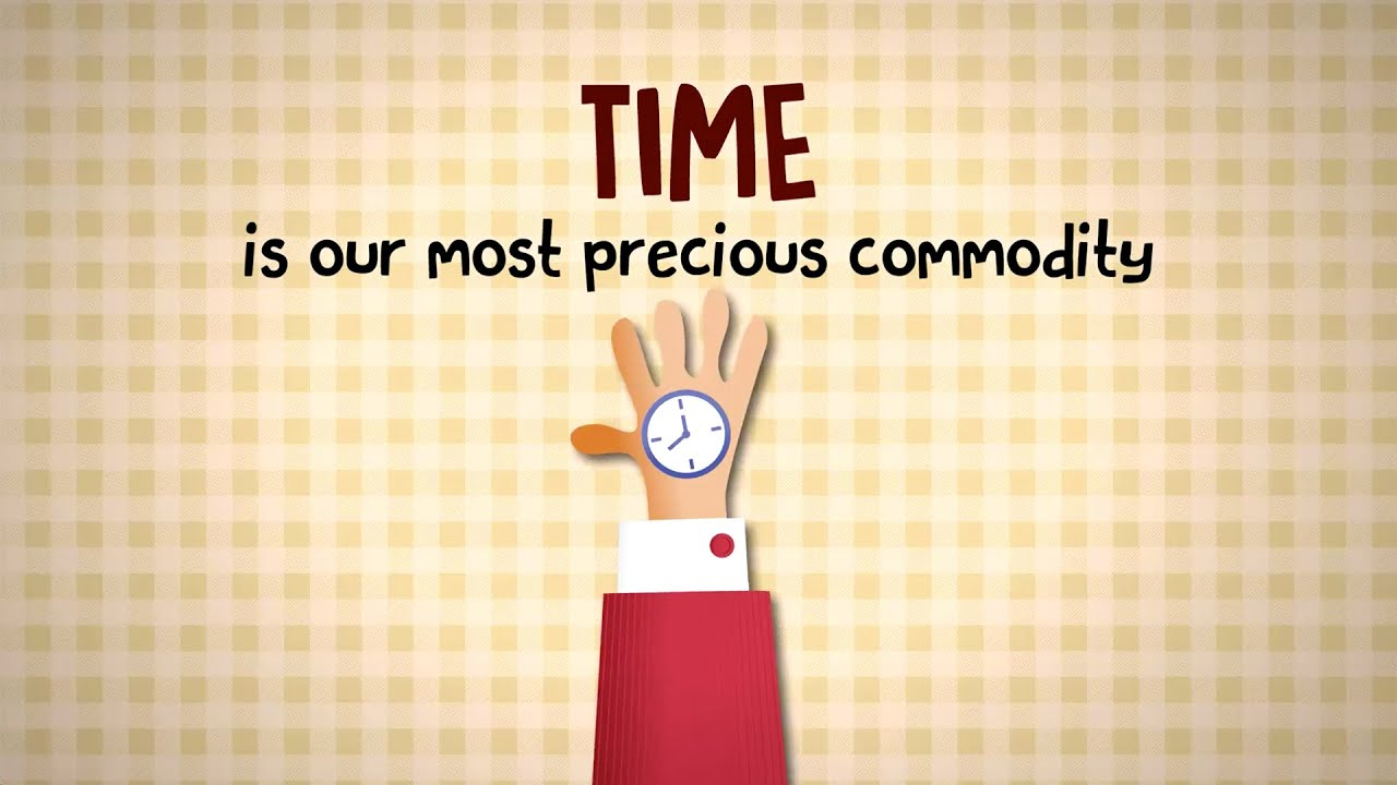 time is the most precious commodity speech