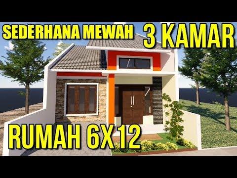 haq desain - desain rumah minimalis sederhana di lahan 6