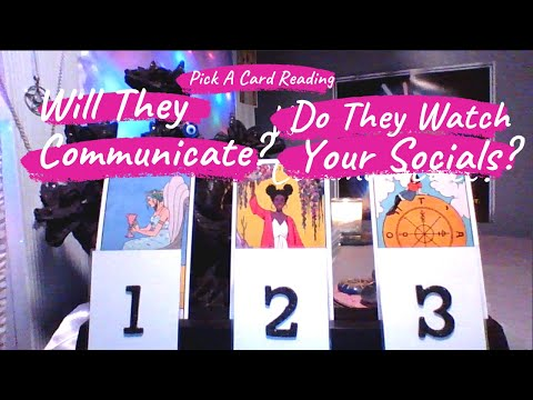 🗣️WILL THEY COMMUNICATE WITH YOU? DO THEY WATCH YOUR SOCIAL MEDIA? TIMELESS TAROT READING LOVE