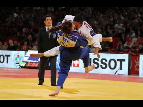 JUDO 2011 World Championships: Lucie Decosse (FRA) - Kim Polling (NED) [LEGENDARY IPPON!]