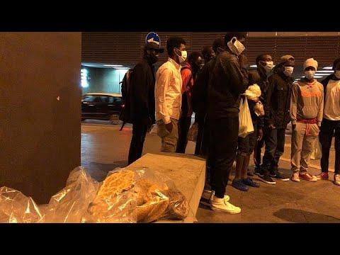 euronews (en français): Les migrants livrés à eux-mêmes à Rome
