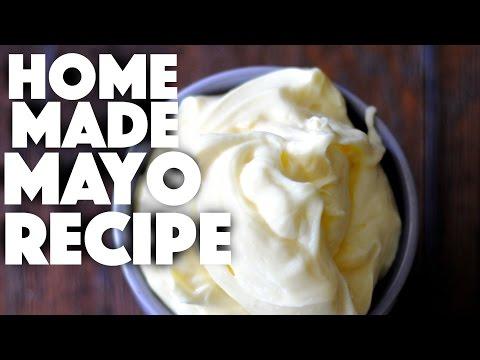 How to make homemade mayonnaise - mayonaise - easy recipes