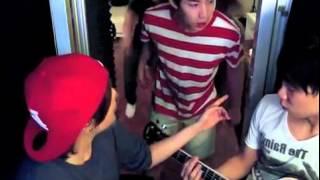 Amber Liu singing Henry Lau