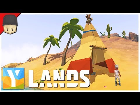 YLANDS - Adventure Time & Giveaway! : Ep.10 (Survival/Crafting/Exploration/Sandbox Game)