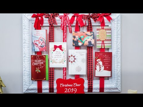 Hallmark Holiday Archives & DIY Card Frame - Home & Family