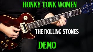 "how to play ""Honky Tonk Women"" on guitar by The Rolling Stones 