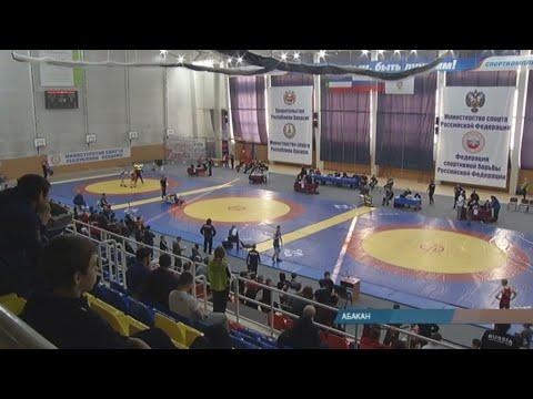 Молодые борцы Хакасии - среди сильнейших в Сибири