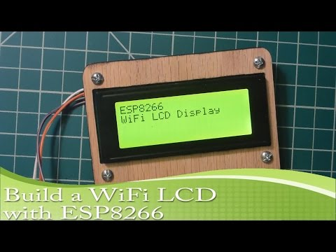 ESP8266 WiFi Display